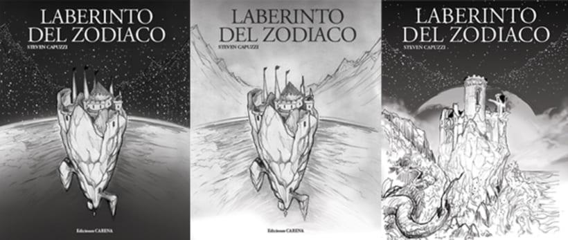 Laberinto del Zodiaco (Cover illustrated). 7