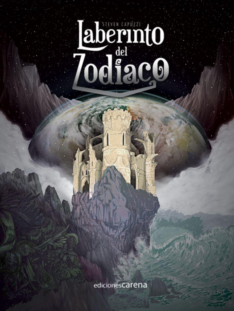 Laberinto del Zodiaco (Cover illustrated). 9