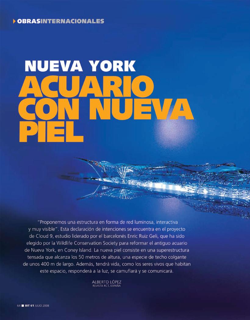 REPORTAJE: ACUARIO CON NUEVA PIEL, NUEVA YORK -1