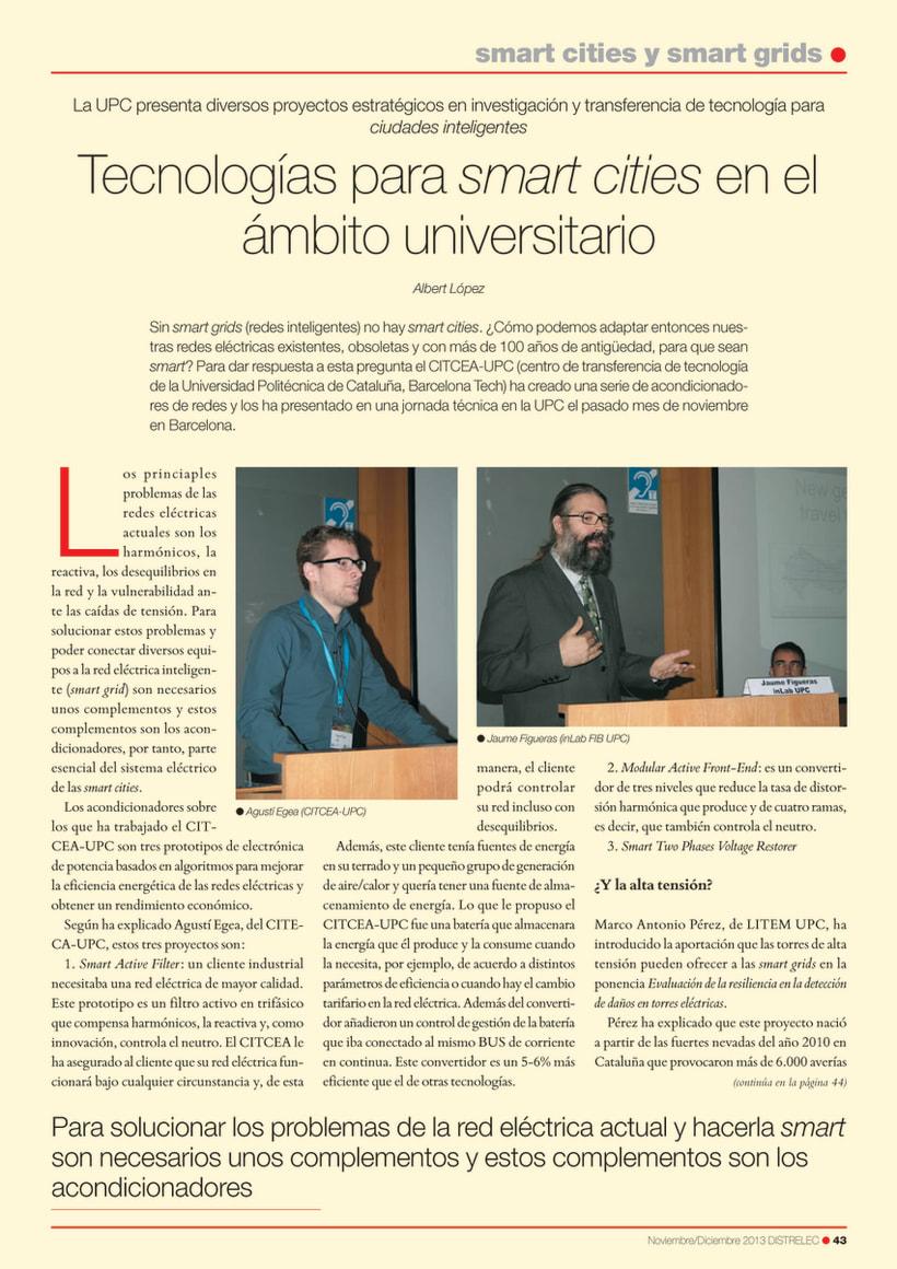 REPORTAJE: TECNOLOGÍAS PARA SMART CITIES EN EL ÁMBITO UNIVERSITARIO 0
