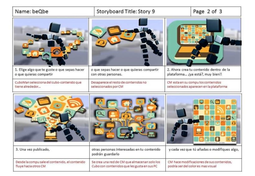 BQB MotionGraphics, Storyboard and  interviews with postproduction 2