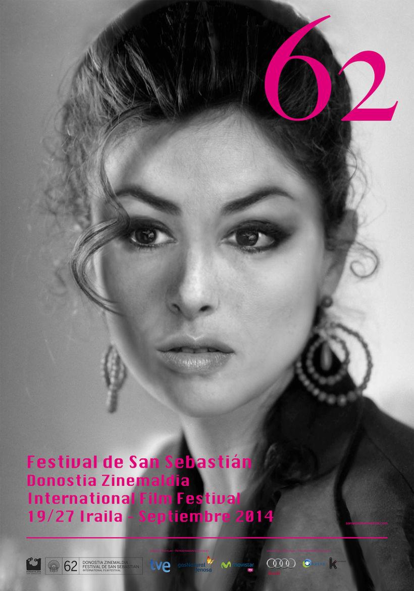 Propuesta de Cartel anunciador del 62 Festival de Cine de San Sebastián 0