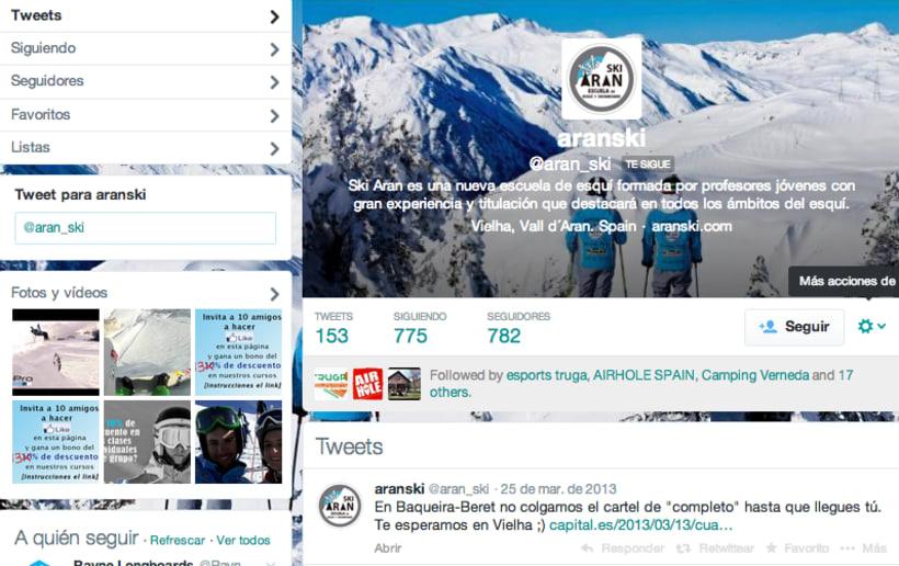 Escuelsa Ski y Snowboard SKI ARAN 1