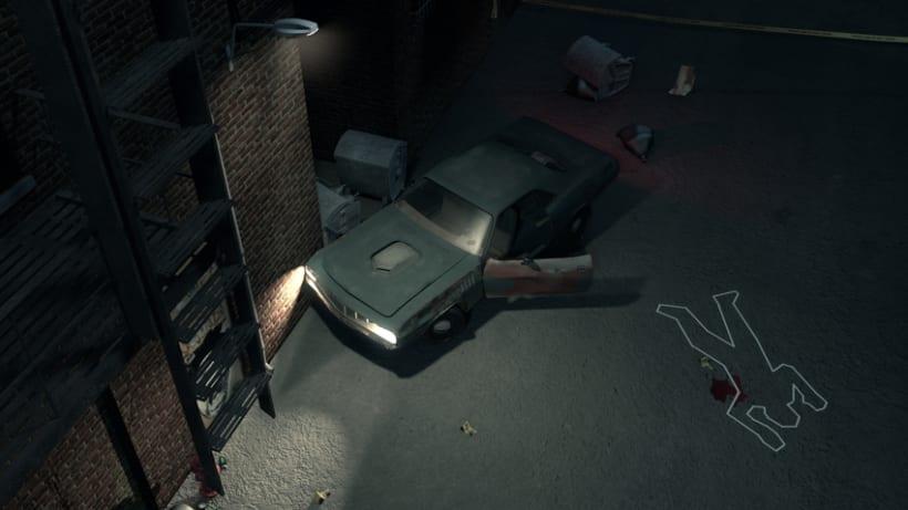 Crime Scene Alley NewYork 3D 0