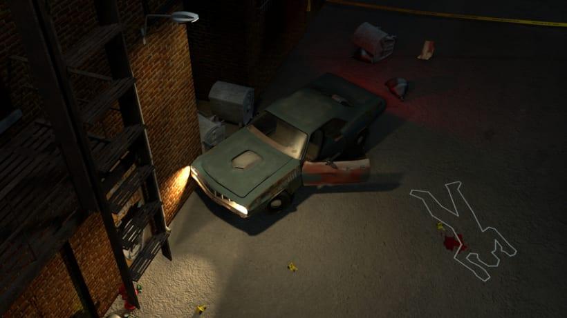 Crime Scene Alley NewYork 3D 1