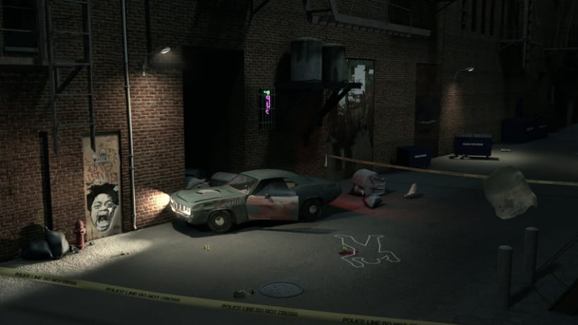 Crime Scene Alley NewYork 3D 4