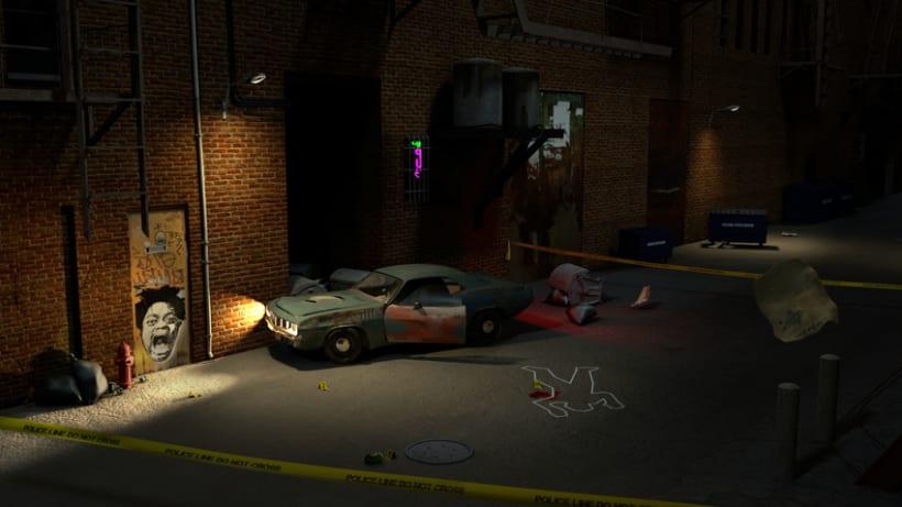 Crime Scene Alley NewYork 3D 5