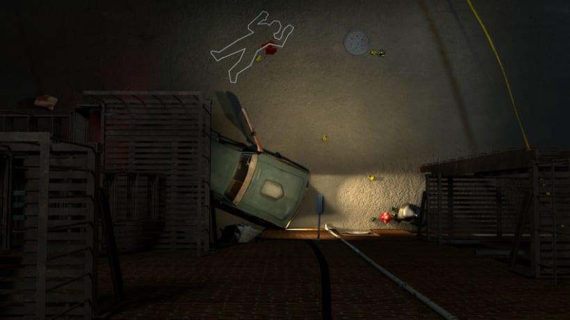 Crime Scene Alley NewYork 3D 9