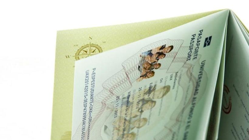 Pasaporte UAX 1