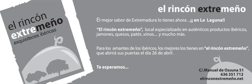 Diseño identidad Corporativa: El Rincón extremeño. 2