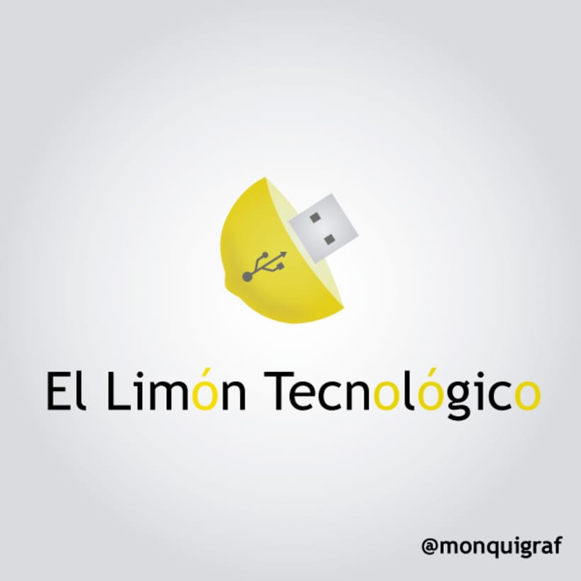#diseñografico de un #logo de El Limón Tecnológico  1