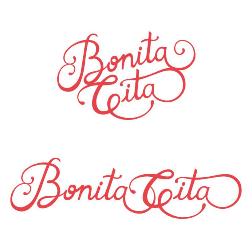 Restyling de Logotipo BONITA CITA 1