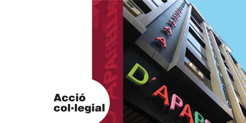 Colegio de aparejadores y arquitectos técnicos de Barcelona  1