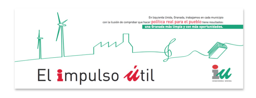 """Valla Campaña """"Impulso Útil"""" (Izquierda Unida) 0"""