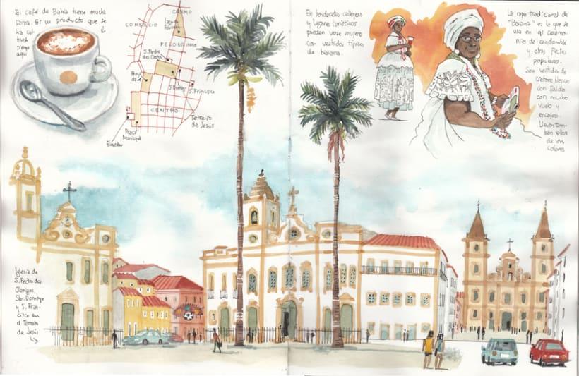 Cuaderno de Viajes de Brasil 2