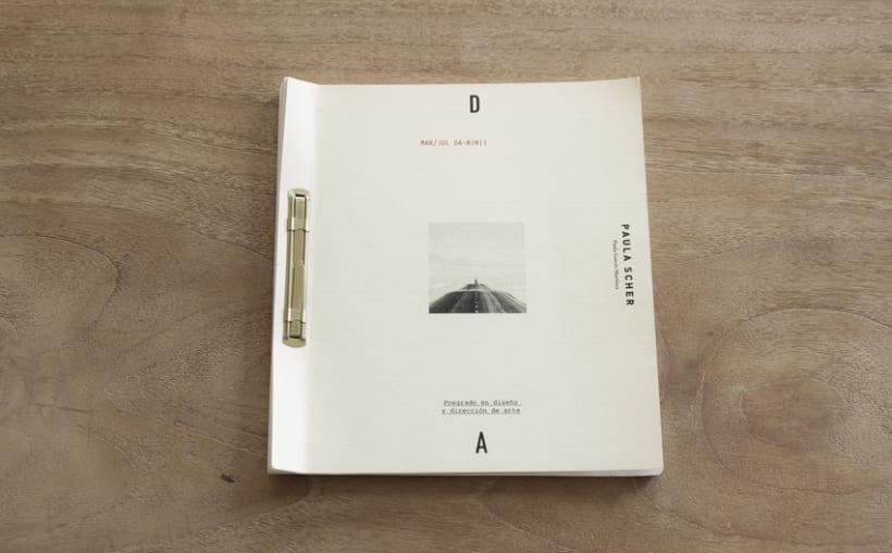 Libro Scher - Recopilación de proyectos realizados en el Posgrado de Diseño y dirección de arte.  0