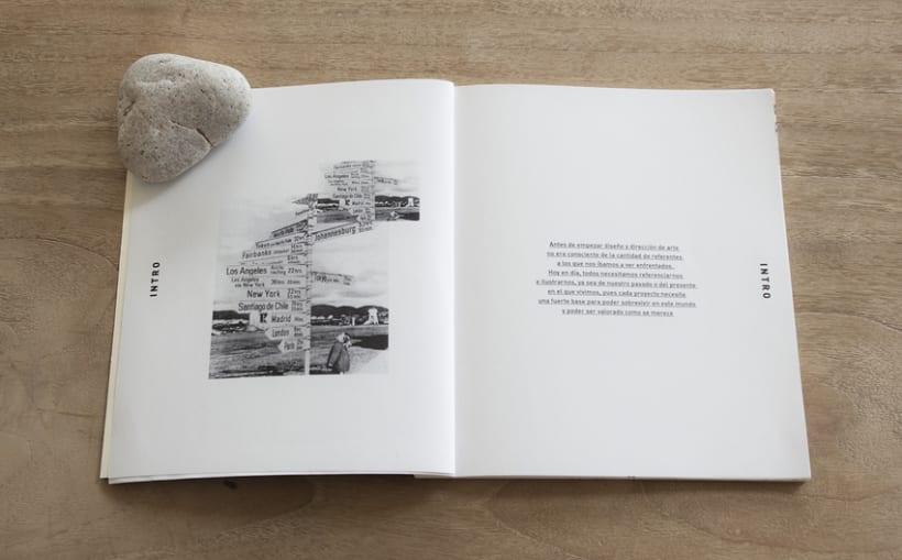 Libro Scher - Recopilación de proyectos realizados en el Posgrado de Diseño y dirección de arte.  3
