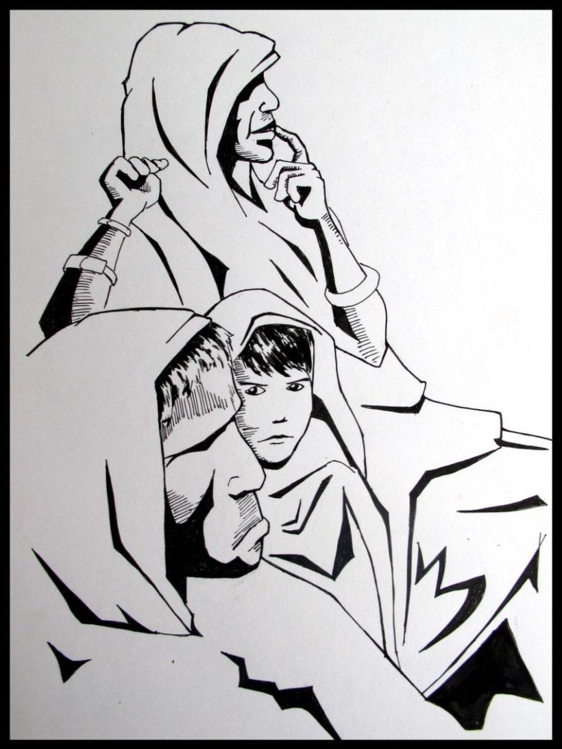 ilustraciones B/N pen 3