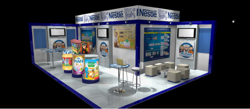 Diseño de Stands y Sets TV -1