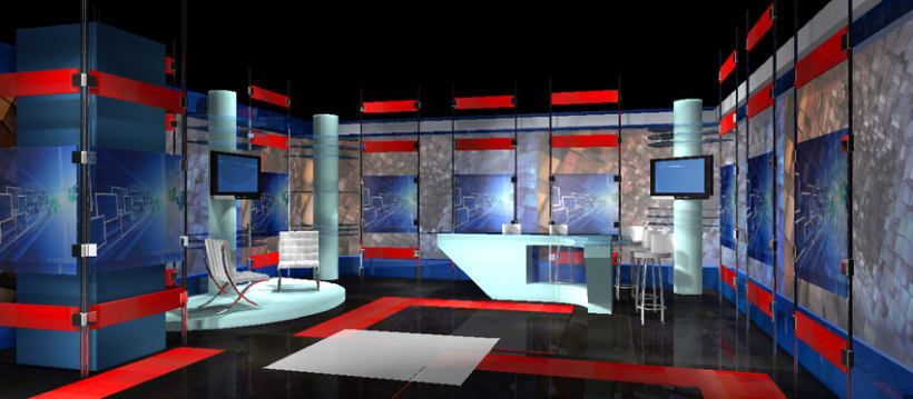 Diseño de Stands y Sets TV 6