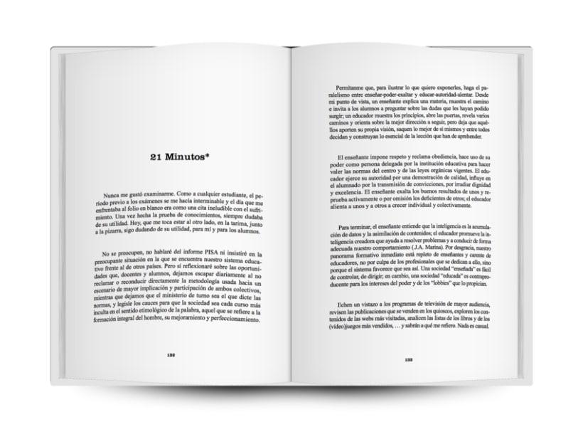 """Diseño, Ilustración y Maquetación del Libro """"Amapolas en el Jardin"""" (ESCO) 2"""