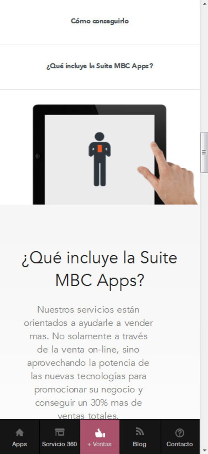 Responsive Design + CSS + xHTML - MBC Apps 1