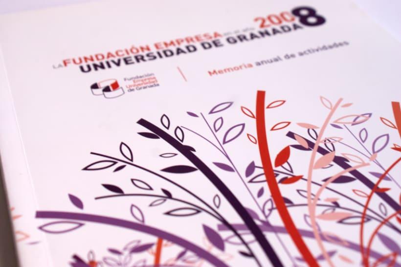 Memoria Anual de actividades Fundación Empresa Universidad de Granada (FEUGR) 1
