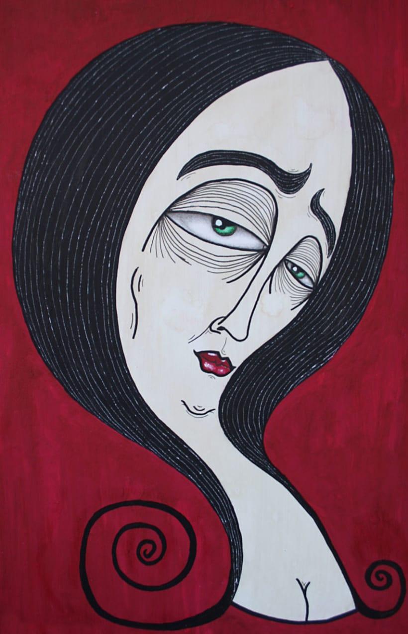 Pinturas para una exposicion 3