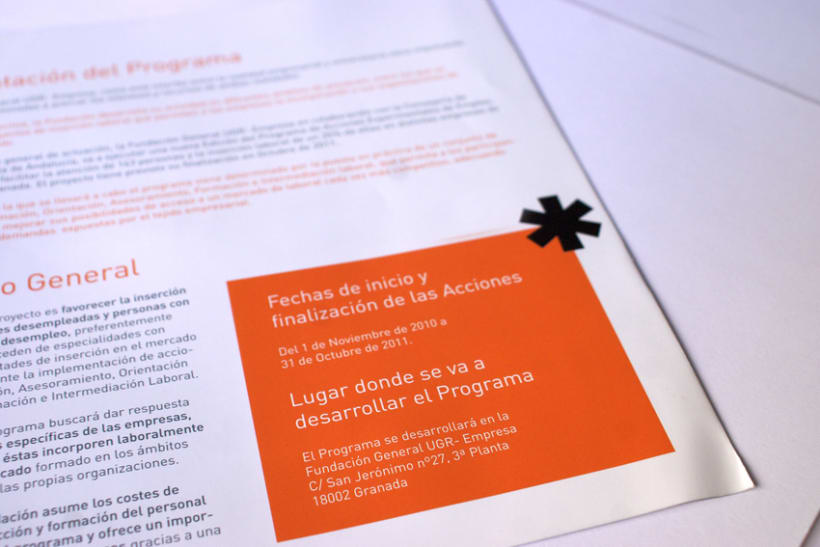 """Programa de Acciones Experimentales de Empleo """"Fundación Empresa Universidad de Granada"""" (FEUGR) 4"""