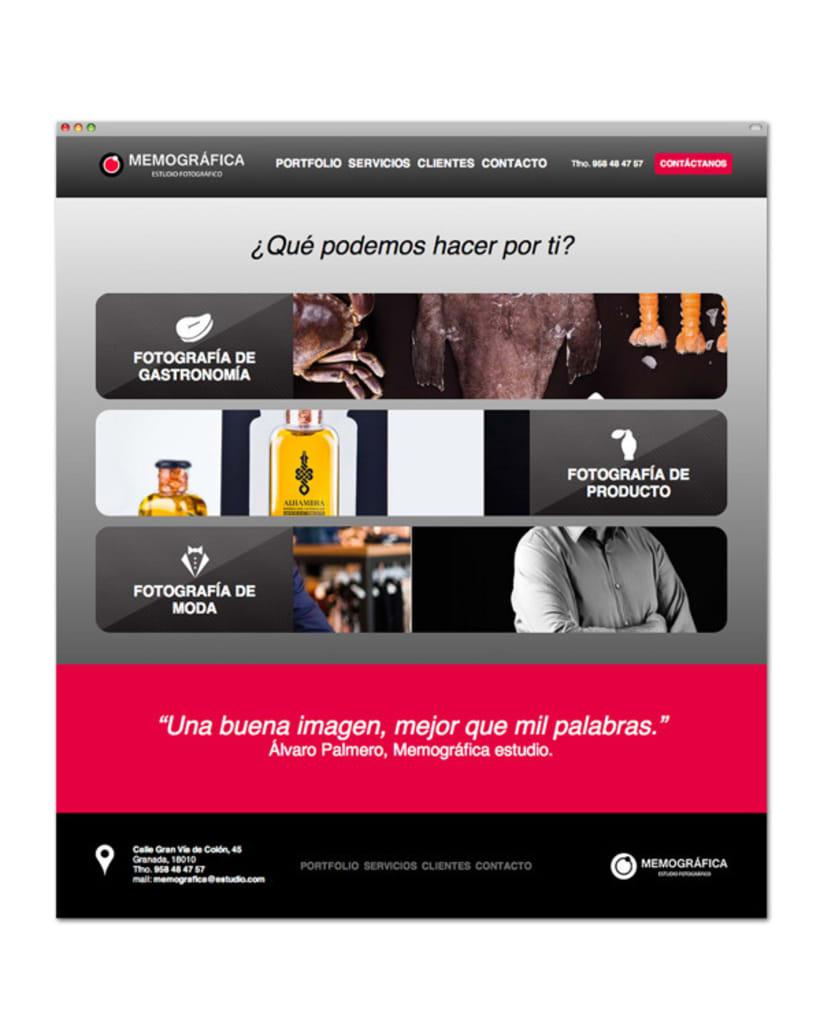 Diseño y Maquetación Web | Memográfica Estudio Granada 2