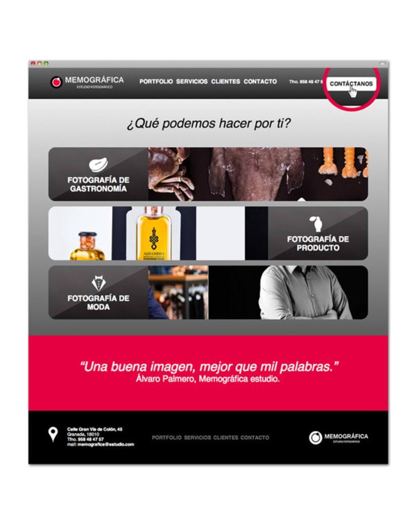 Diseño y Maquetación Web | Memográfica Estudio Granada 3