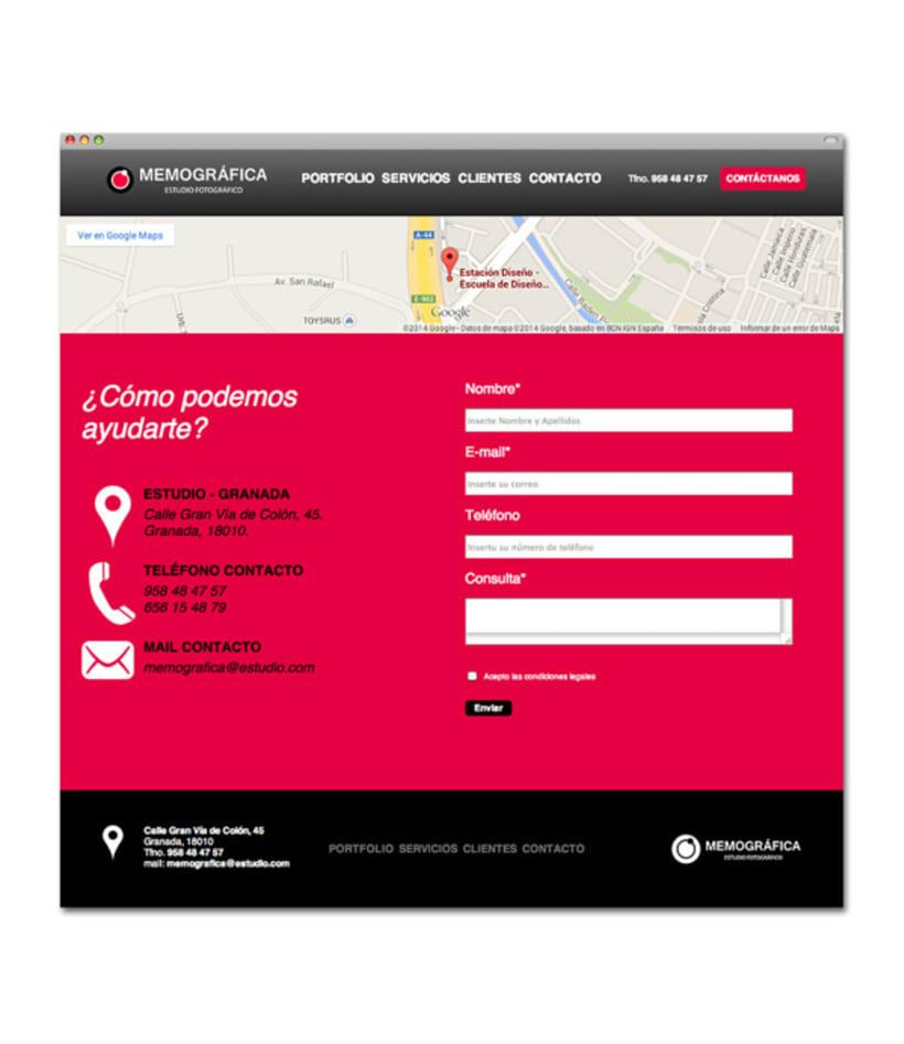 Diseño y Maquetación Web | Memográfica Estudio Granada 6