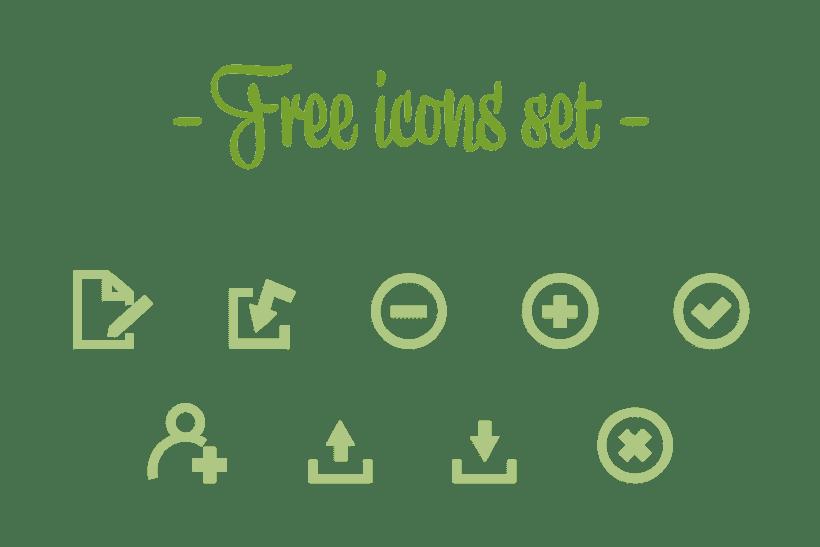 Free icons set 0