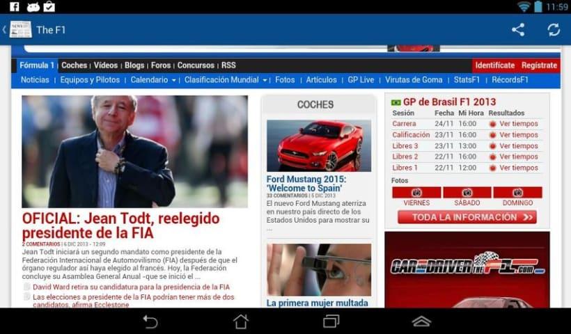 News4U - Noticias Prensa España Android 2