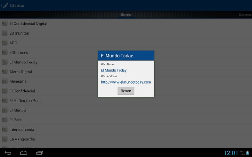 News4U - Noticias Prensa España Android 6