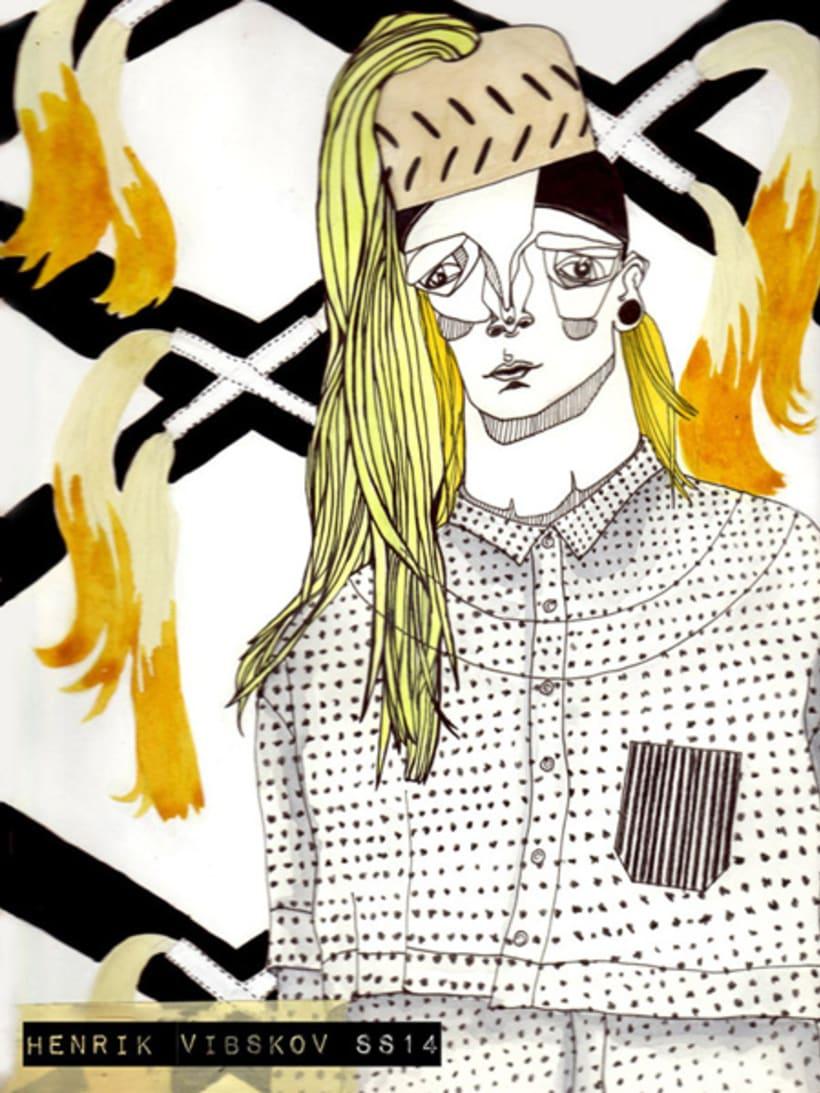 Menswear SS14 Fashion Illustrations 2