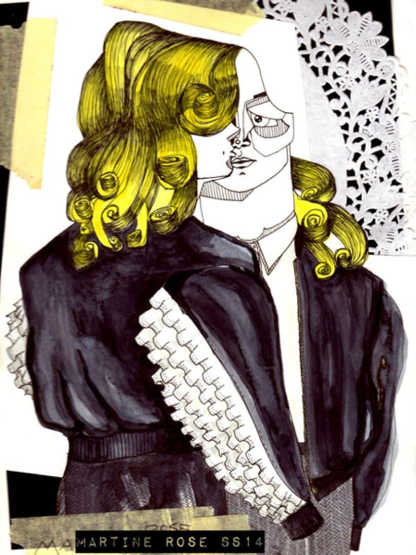 Menswear SS14 Fashion Illustrations 4