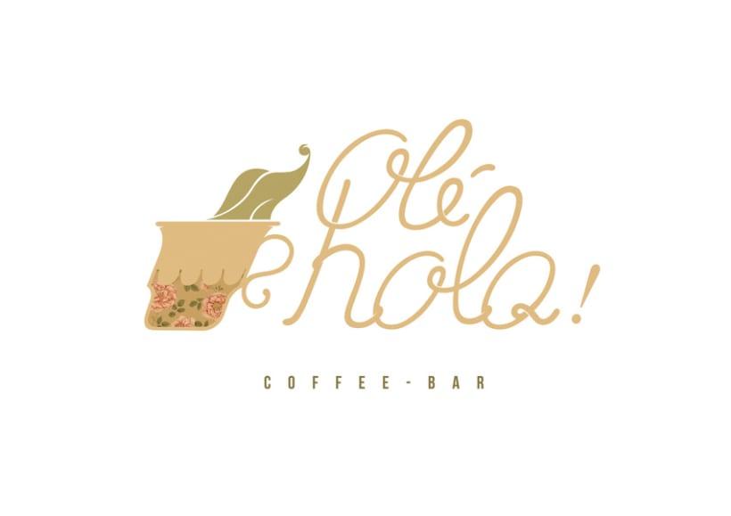 Olé Hola Logotype & Menu 0