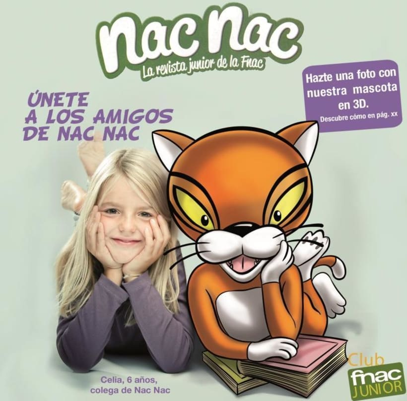 Portadas Club Fnac Junior 2