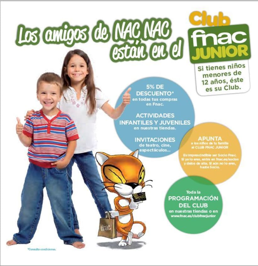 Portadas Club Fnac Junior 5