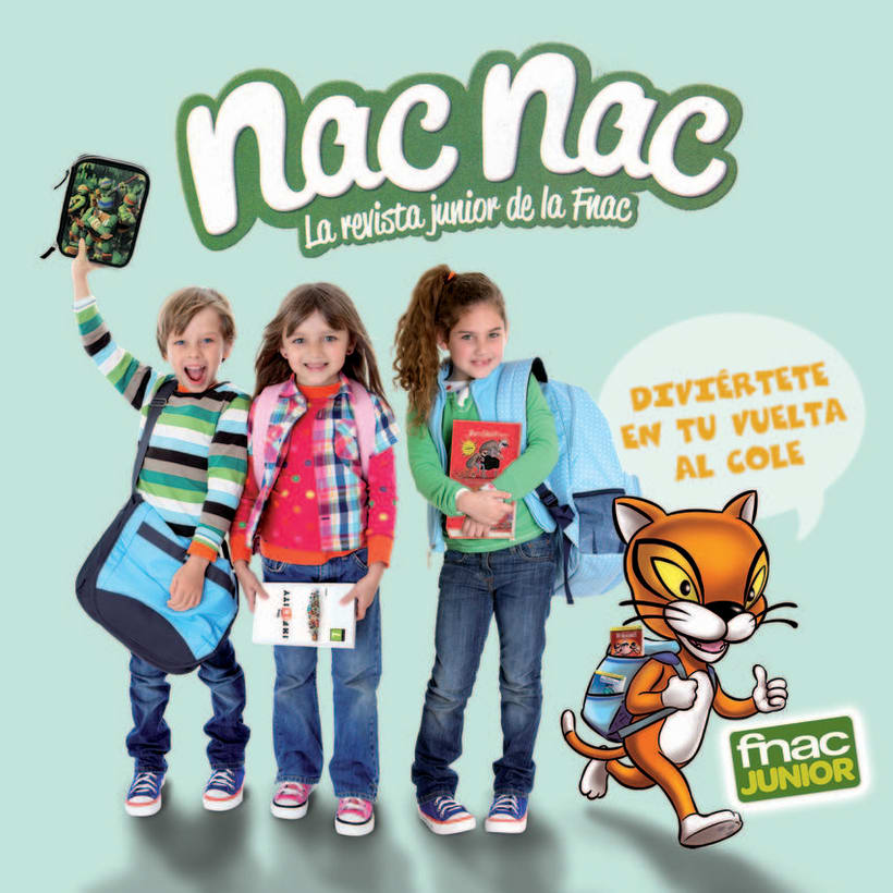 Portadas Club Fnac Junior 4
