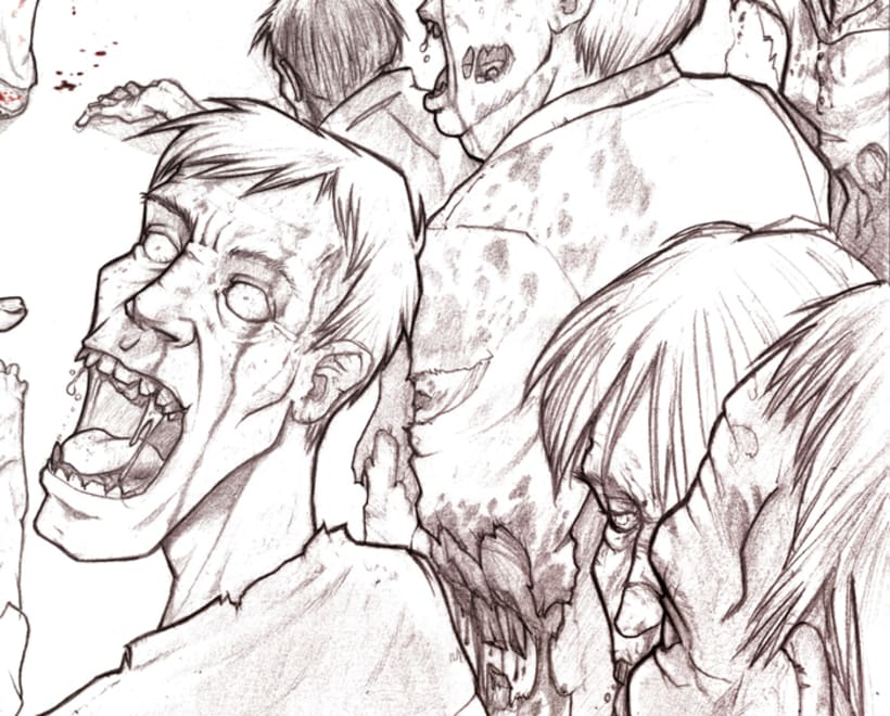 The Walking Dead - Comic Fan Art 1