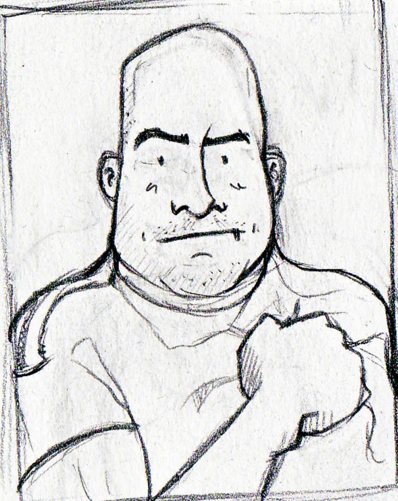 """Caricaturas: """"cromos de futbol"""" 7"""