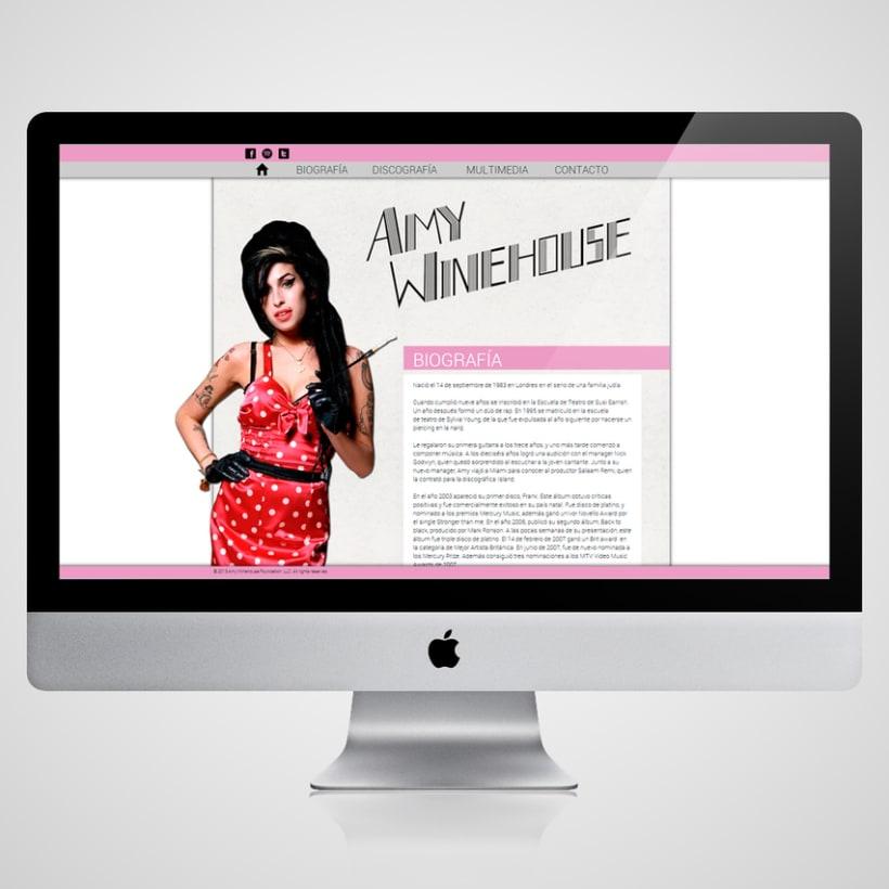 Amy Winehouse Web 0