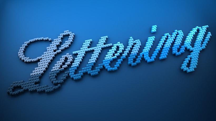 LEGO lettering 1