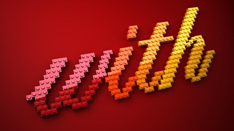 LEGO lettering 2