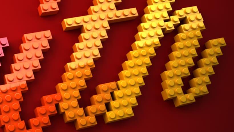 LEGO lettering 6