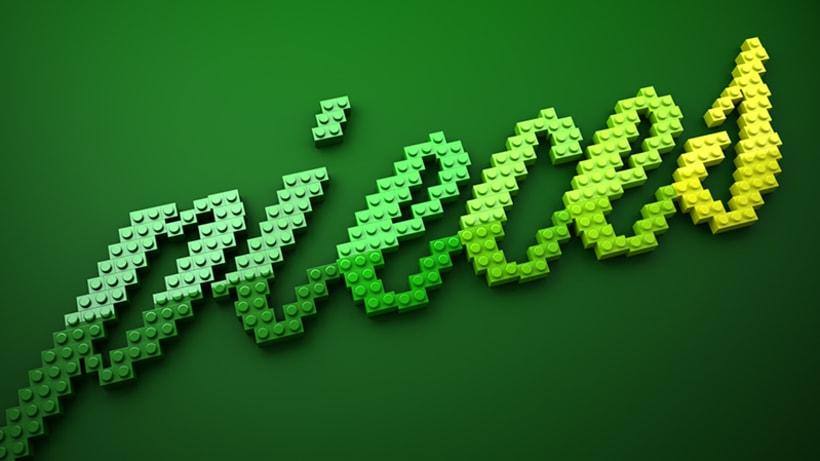 LEGO lettering 4
