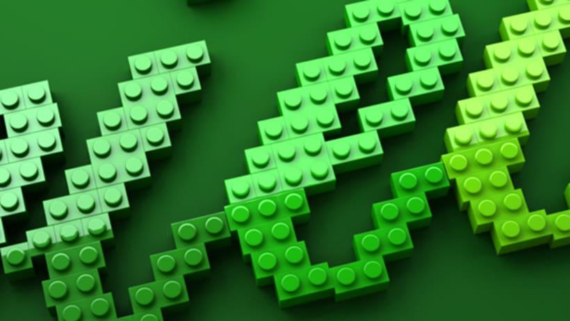 LEGO lettering 8