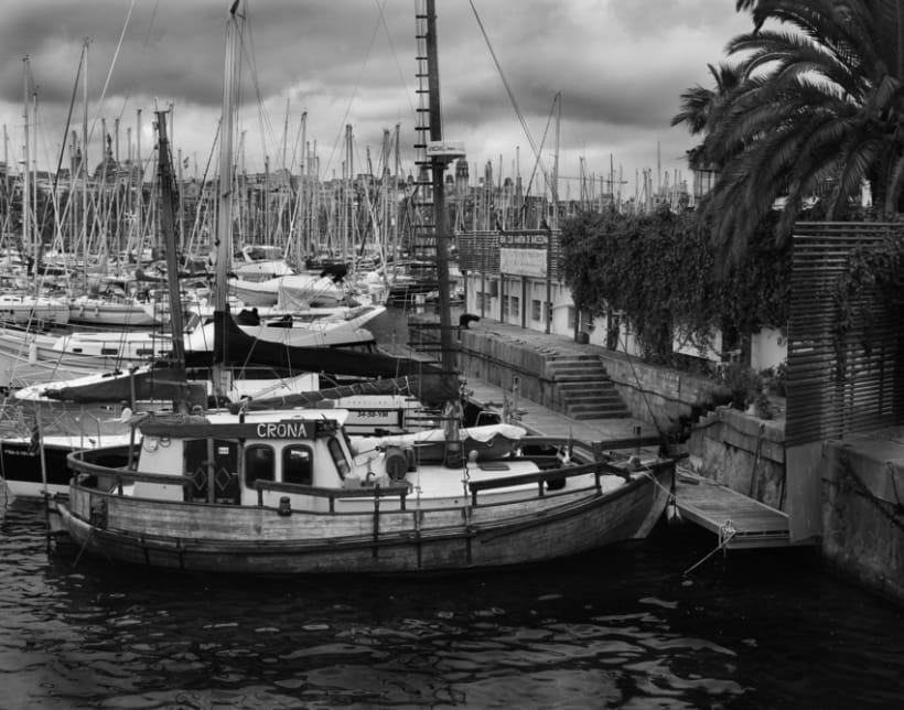 Barcelona    Blanco y Negro 7